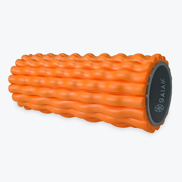 """Encourage recovery and rest with this <a href=""""https://www.gaiam.com/collections/foam-rollers/products/05-61793_2?variant=327"""