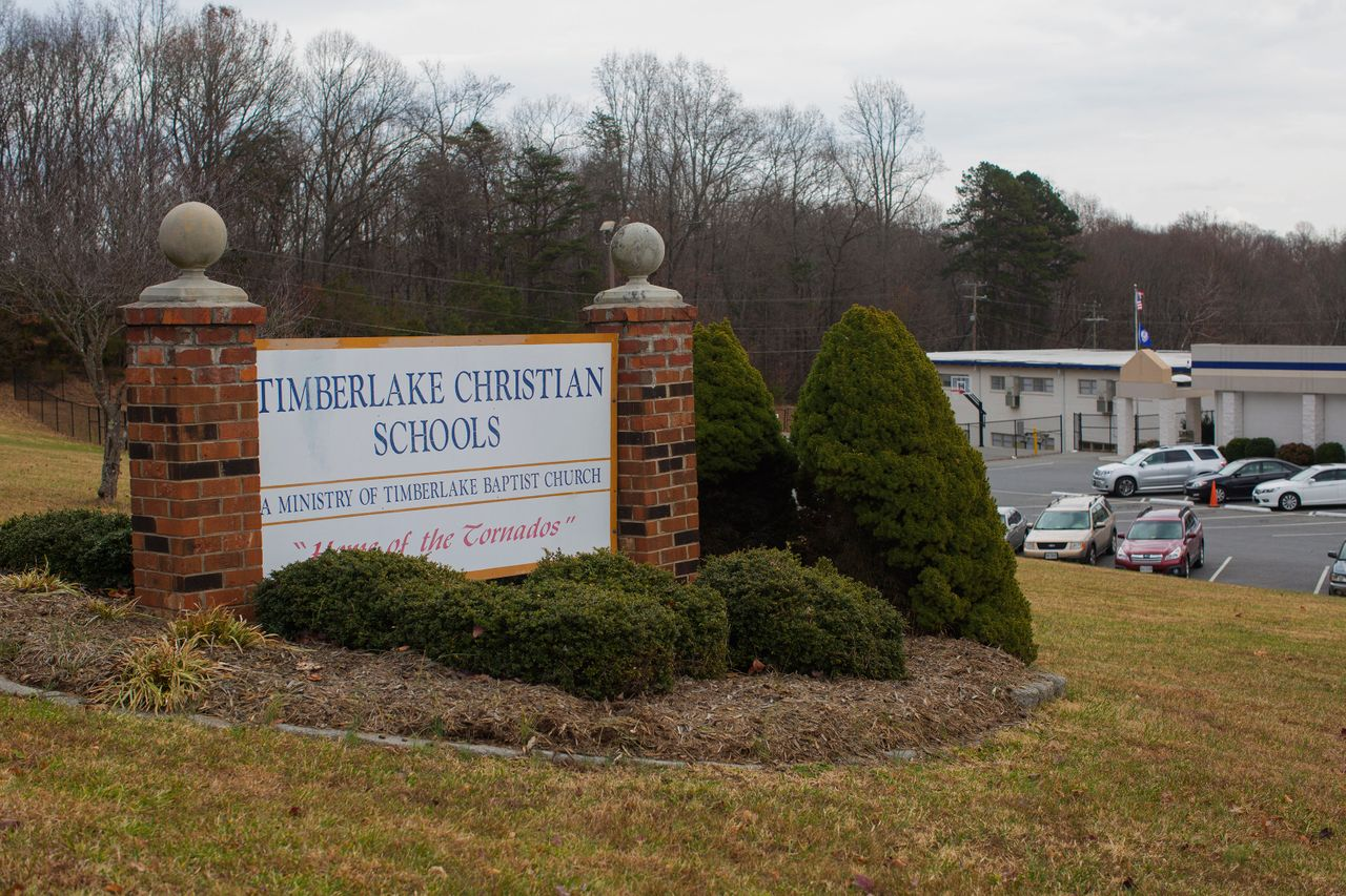 Timberlake Christian Schools in Forest, Virginia, continues to have an anti-LGBTQ policy.