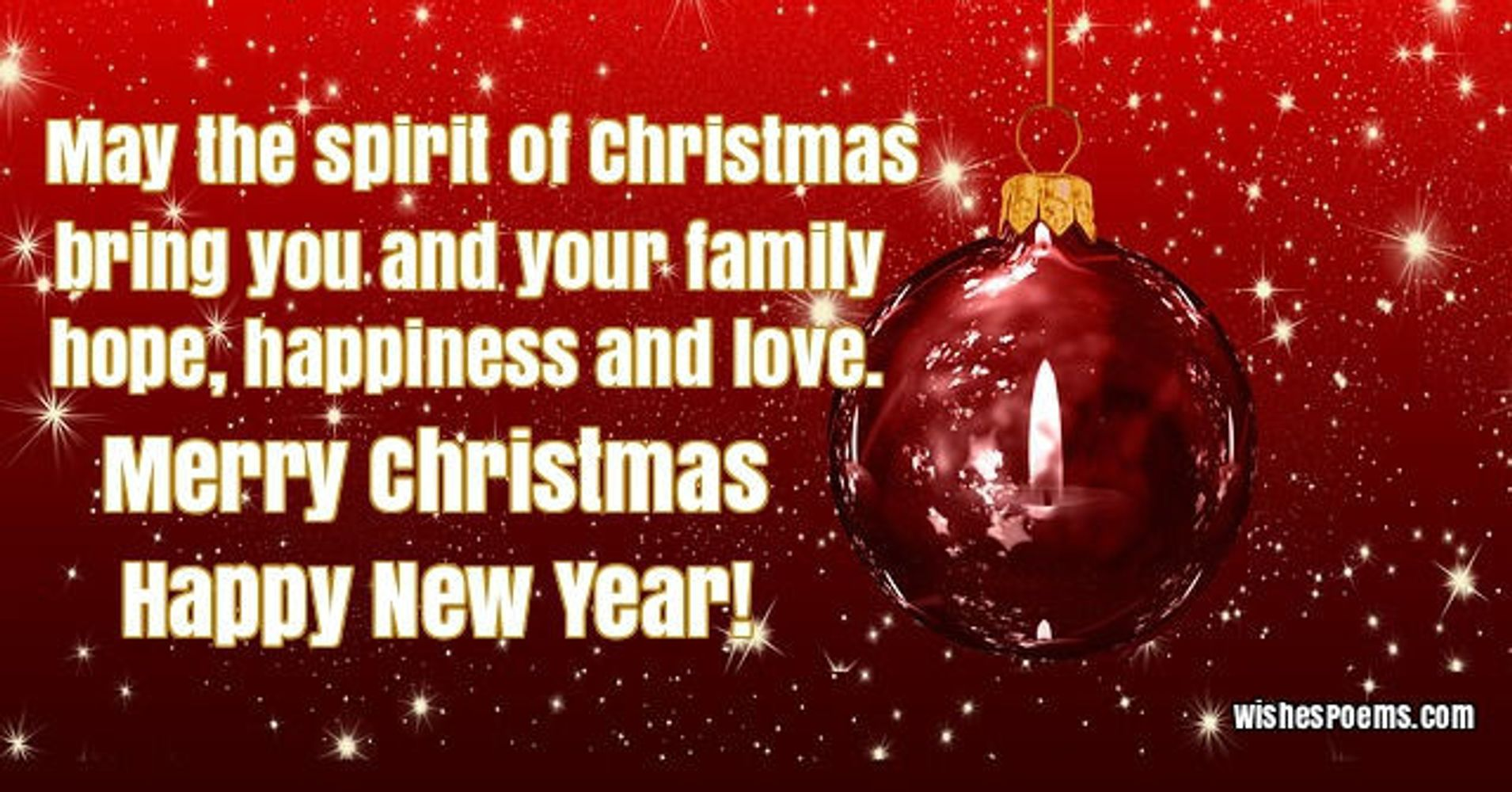 Image result for love to all merry christmas happy holidays pic