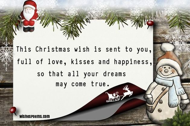 Christmas Card Message.35 Christmas Card Messages What To Write In A Christmas