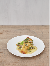 From The Sportsman: Thornback Ray with Cockles and Brown Butter