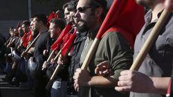 Πορείες και συλλαλητήρια στη χθεσινή 24ωρη γενική