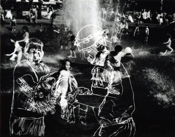 <strong>Farideh Sakhaeifer, </strong><em>you are in the war zone,(</em>2016-17) Gelatin Silver Print