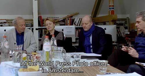 """<em>World Press Photo prize jury (courtesy """"A Sea of Images"""")</em>"""