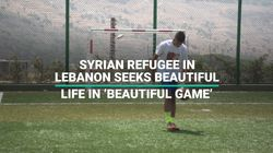 The Syrian Refugee Chasing His Dream Of Being a Professional