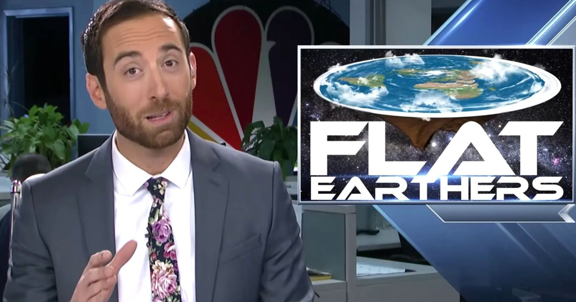 TV Meteorologist Has Absolutely Had It With The Flat-Earth Movement