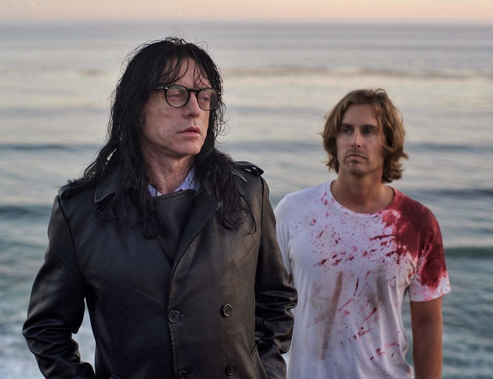 "Tommy Wiseau and Greg Sestero in ""Best F(r)iends."""