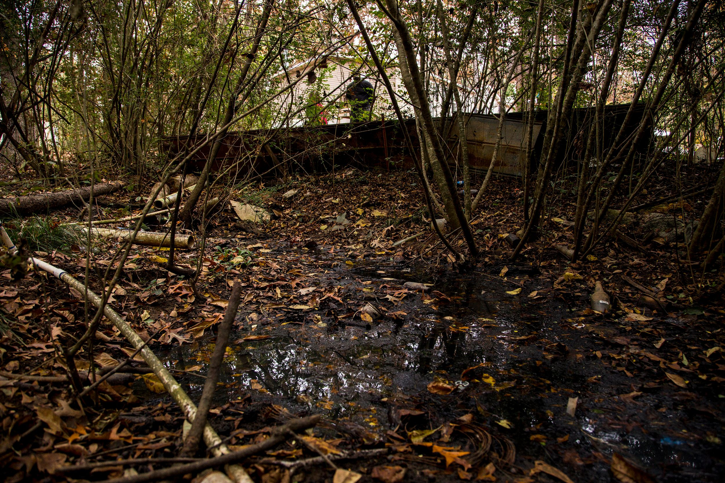 Meet The Americans Who Live With Open Sewers In Their Yard | HuffPost