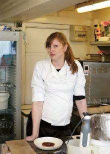 """Pastry Chef Sarah Kay wrote in the book, """"I started as a washer upper at The Sportsman when I was 15. I should really have be"""