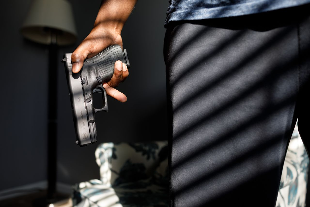 Many of the gun owners spoke of their anxieties during interactions with the police and their complex views on gun regulation.