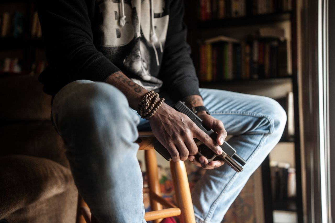 Increased interest in firearms within the black community has been attributed to a desire for self-protection against emboldened white supremacists.