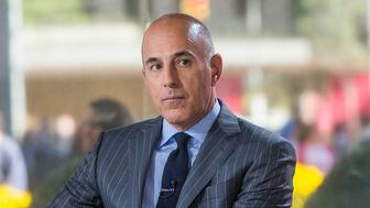TODAY -- Pictured: Matt Lauer on Wednesday, September 4, 2017 -- (Photo by: Nathan Congleton/NBC/NBCU Photo Bank via Getty Images)
