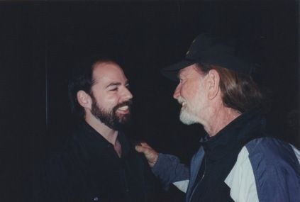Rob and Willie Nelson