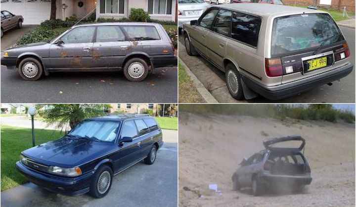 Photos of a 1989 Toyota Camry wagon models