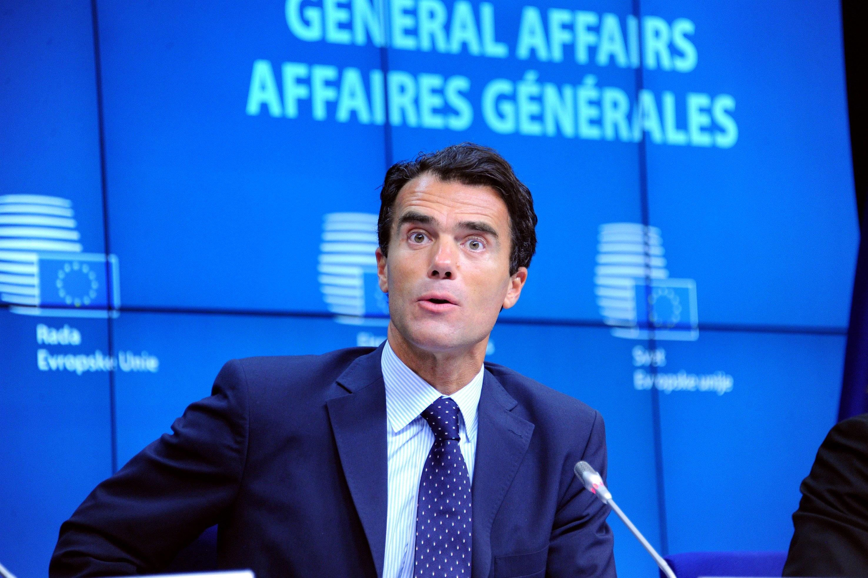 <i>Italy&rsquo;s Europe Minister Sandro Gozi</i>