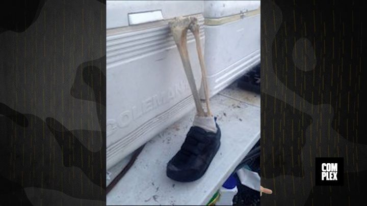 Authorities in Canada say a man walking a dog made this shocking discovery last week.