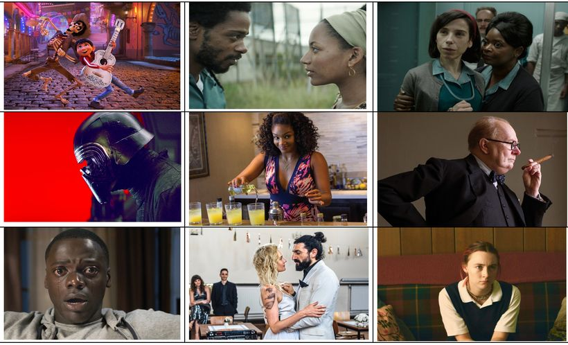 These are the best films of 2017—and then some.