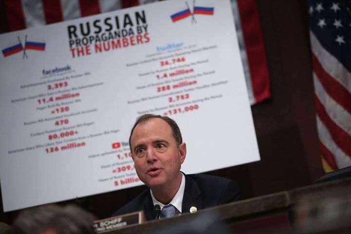 House Intelligence Committee ranking member Rep. Adam Schiff (D-Calif.).