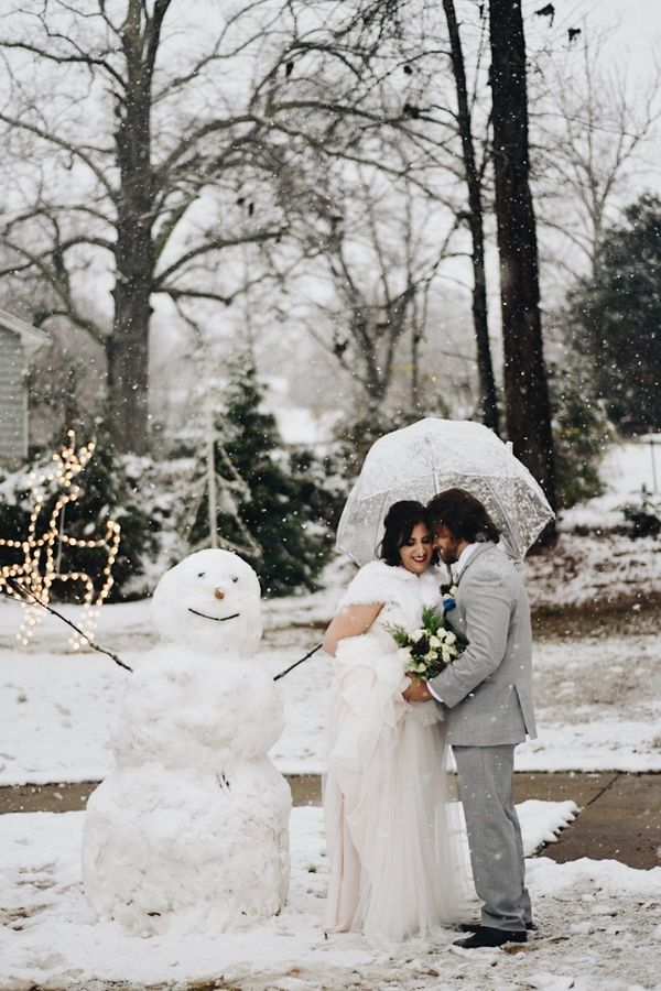 """""""Congratulations to Lauren and Corey, who married at The Corner District in Ball Ground, Georgia, on Dec. 8.""""—<i>Krisan"""