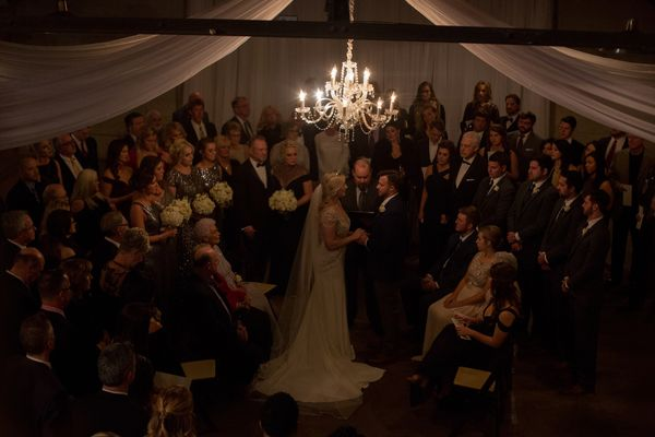 """""""The most romantic and intimate wedding ceremony, literally surrounded by their families and friends in a circle. Congrats, J"""