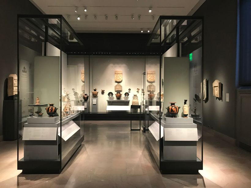 The Museum of Fine Arts' new gallery depicting daily life in Ancient Greece