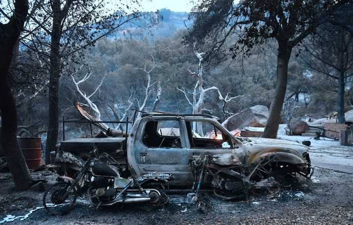 Nearly 1,000 homes have been damaged or destroyed in the Thomas fire, California officials said Friday.