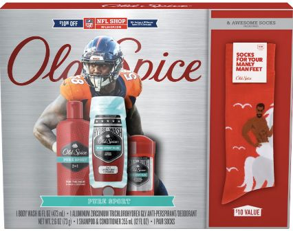 Old Spice NFL Gift Set featuring