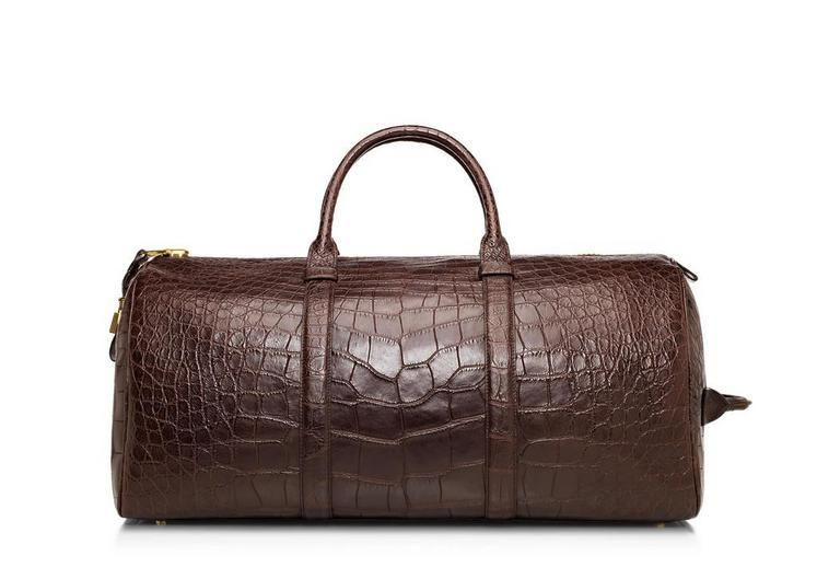 Tom Ford's Buckley Alligator Duffle is a luxury traveler's dream come true.