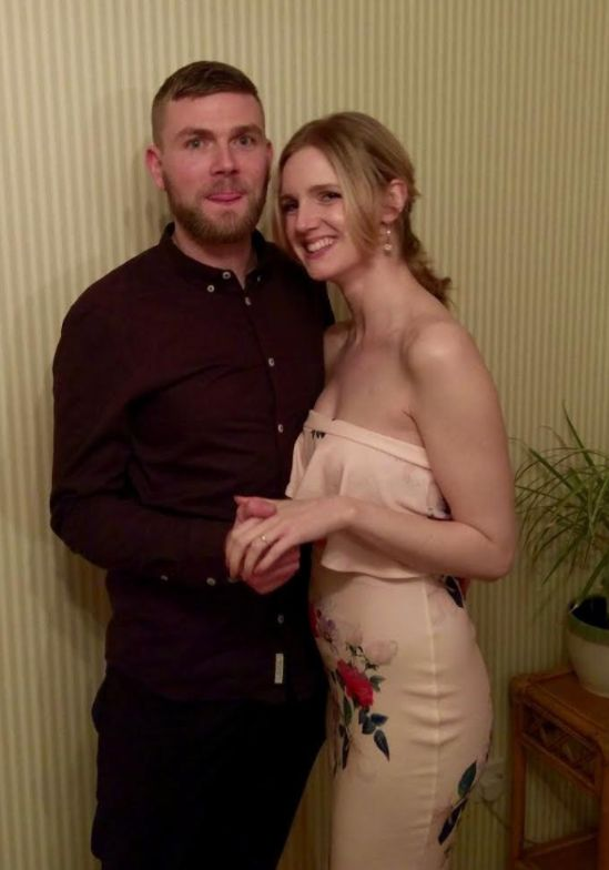 <strong>Kyle Charnley and Katherine Dixon, 30, are both nurses</strong>