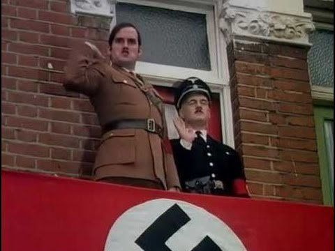 """John Cleese as """"Mr. Hilter"""" in the classic Monty Python sketch"""