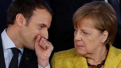 Wie Emmanuel Macron derzeit Angela Merkel international den Rang abläuft
