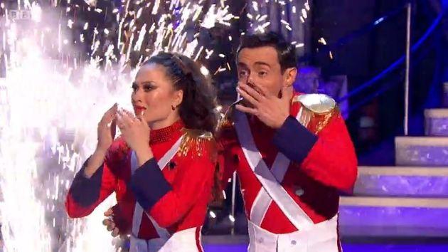 Joe McFadden and Katya Jones win 'Strictly Come Dancing'