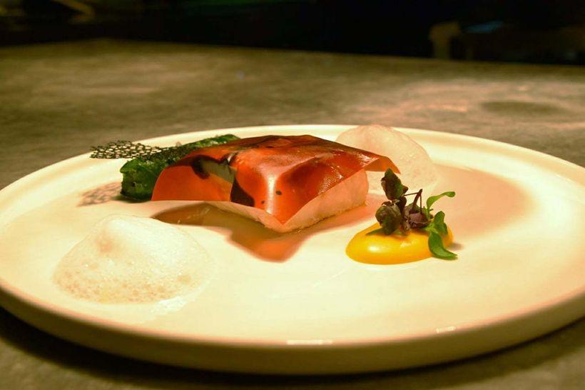 Fish dish.