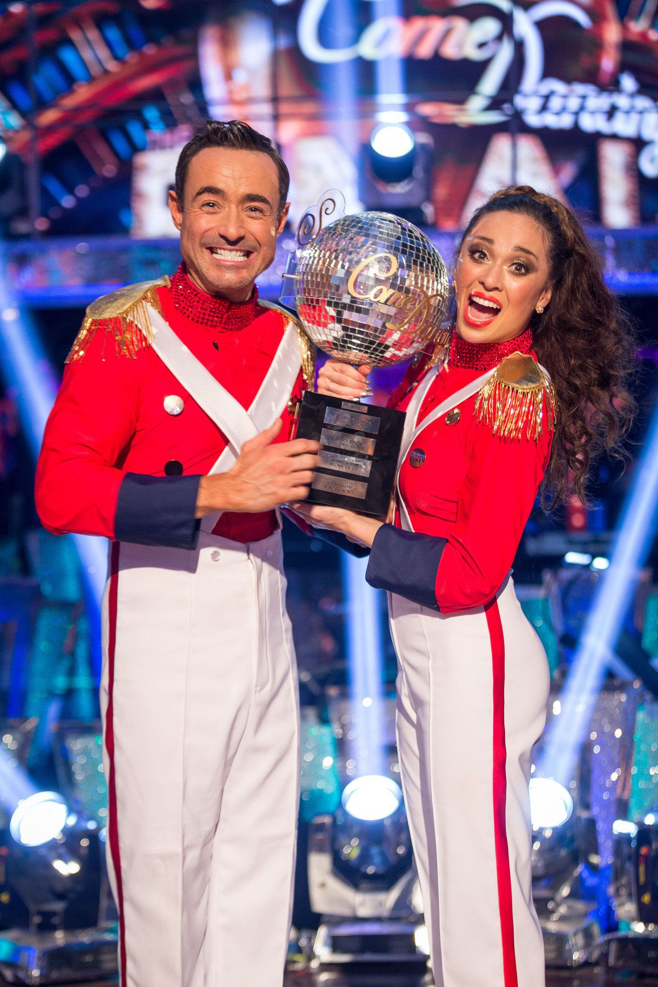 Joe McFadden and Katya Jones were crowned winners of 'Strictly Come Dancing'