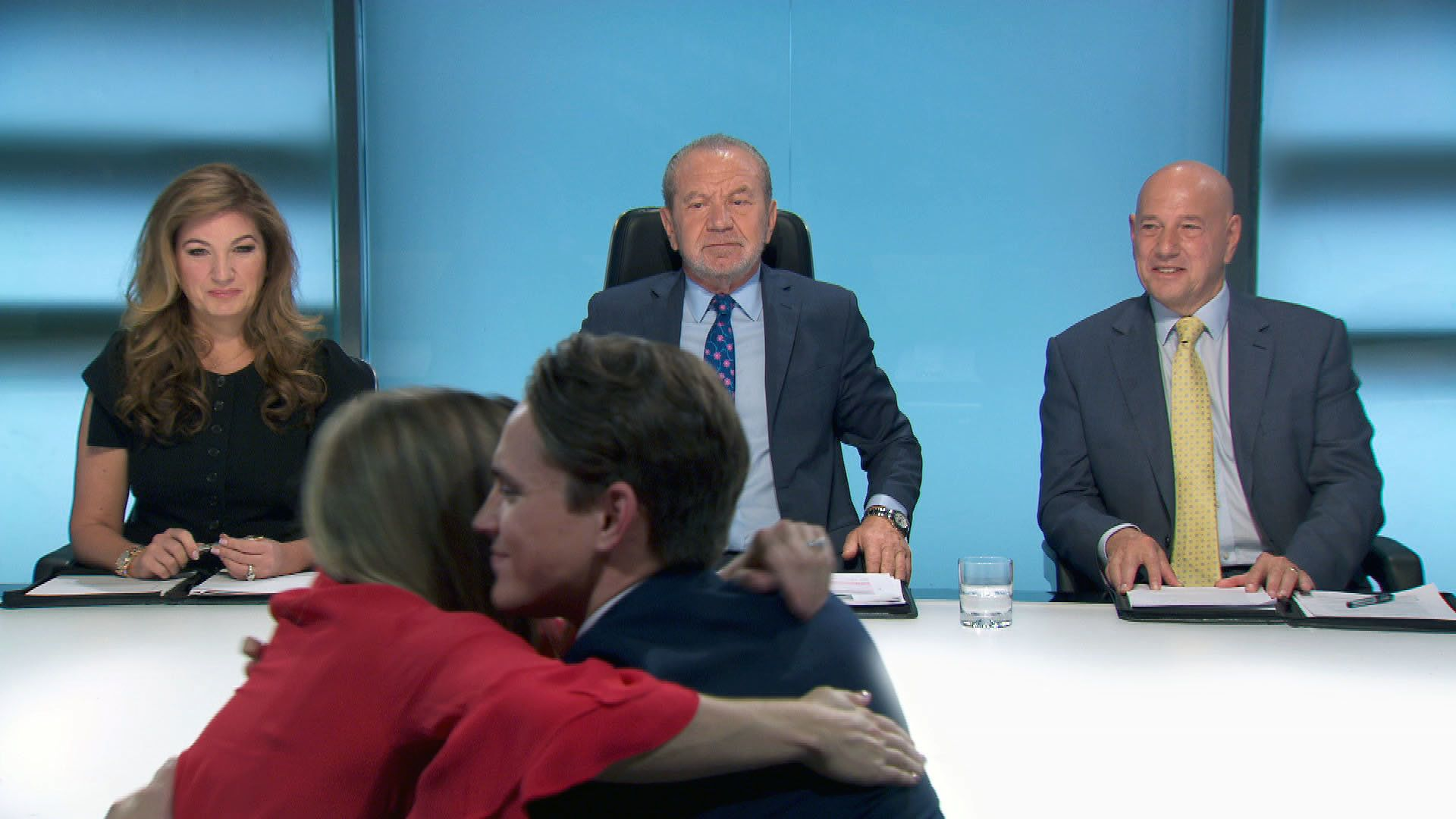 Lord Sugar was impressed by both candidates