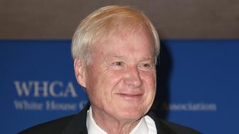WASHINGTON, DC - APRIL 29:  Political Commentator Chris Matthews attends the 2017 White House Correspondents' Association Dinner at Washington Hilton on April 29, 2017 in Washington, DC.  (Photo by Tasos Katopodis/Getty Images)