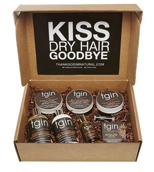 The Moist Collection BOX for Natural Hair for Men & Women