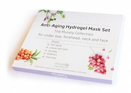 Anti-Aging Hydrogel Mask Set
