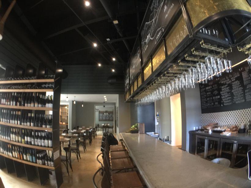 <em>The bar &amp; restaurant at Napa Valley</em>'s <em>Compline</em>