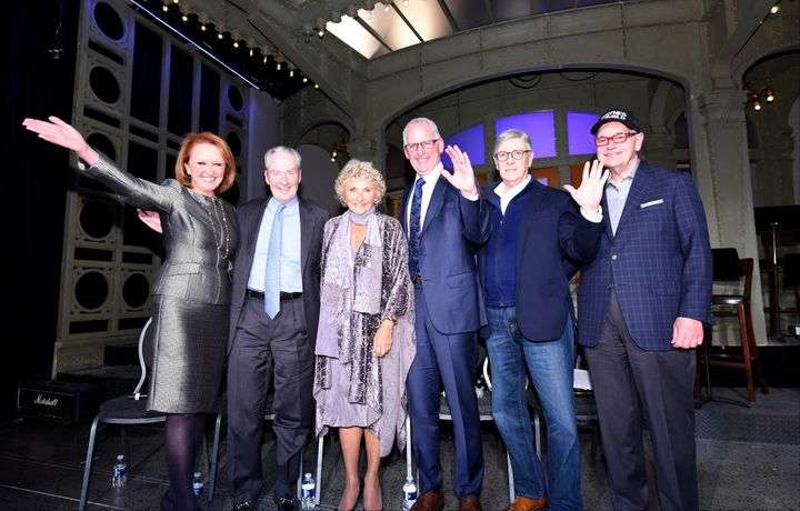 "<p>Chicago Innovation's ""Ageless Innovators"" at the Museum of Broadcast Communications. Panelists: Vicki Escarra, Chris Galvin, Hedy Ratner, Greg Wasson, Rich Melman, and moderator Tom Kuczmarski.</p>"