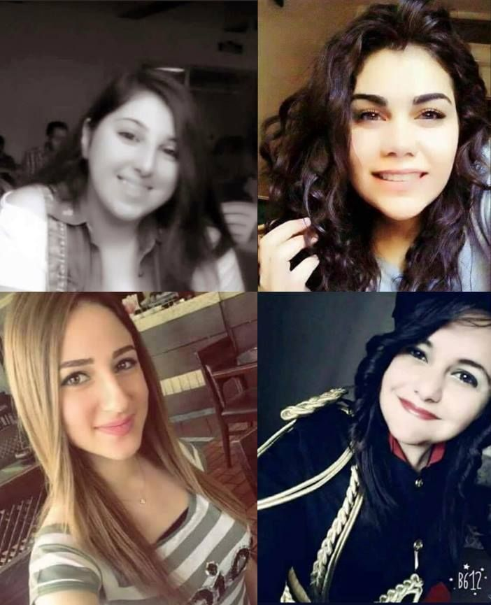 Five female Christian students and their teacher lost their lives in a terror attack in Homs in Syria. Their names were:  Lam