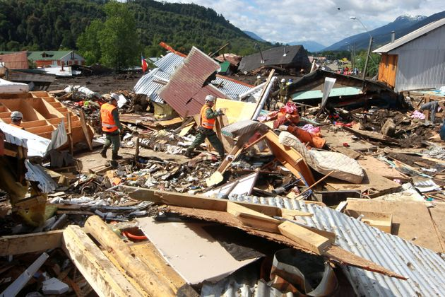 Χιλή: Τουλάχιστον 11 νεκροί σε χωριό που καταπλάκωσε χείμαρρος