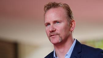 TORONTO, ON- SEPTEMBER 8  -   Morgan Spurlock at the red carpet for the movie, 'TiFF Super Size Me 2 ' at the Ryerson Theatre during the Toronto International Film Festival  in Toronto.  September 8, 2017.        (Steve Russell/Toronto Star via Getty Images)