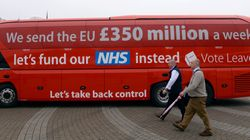Brexit Hit To UK Economy Could Be £350m A Week Leavers Promised To Claw Back