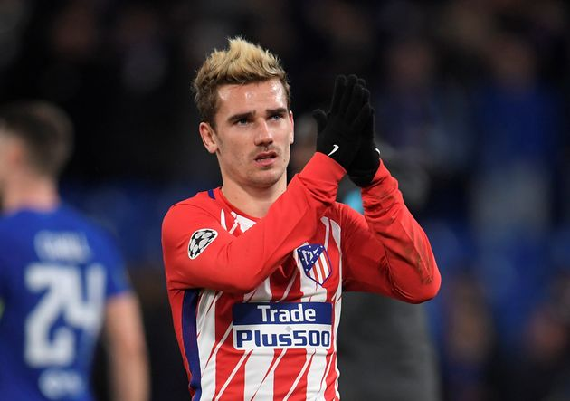 Atletico Madrid report Barcelona to Federation Internationale de Football Association over improper contact with Griezmann