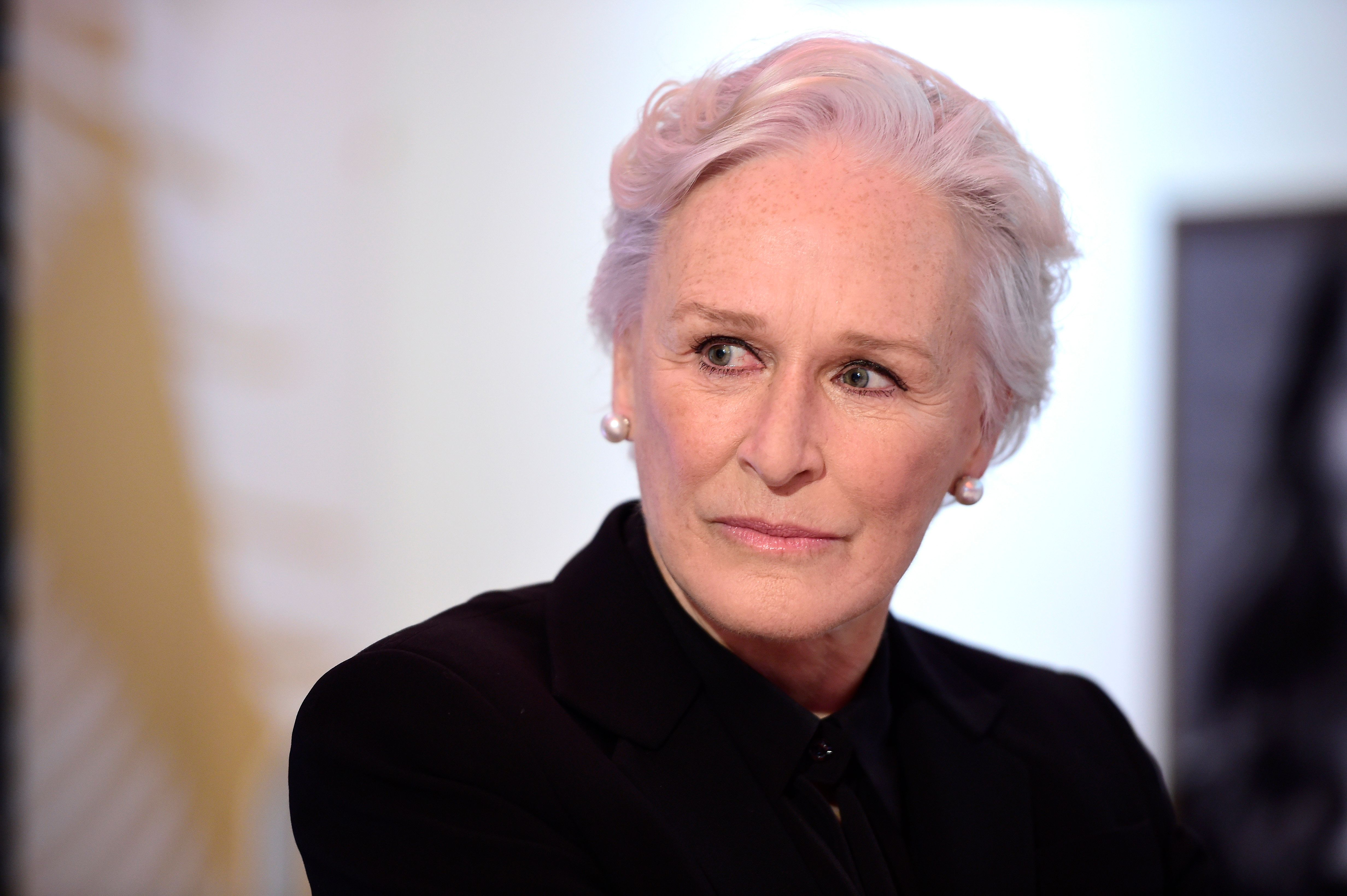 """Glenn Close spoke to Jezebel about her upcoming movie """"Crooked House"""" and the wave of sexual misconduct allegations against p"""