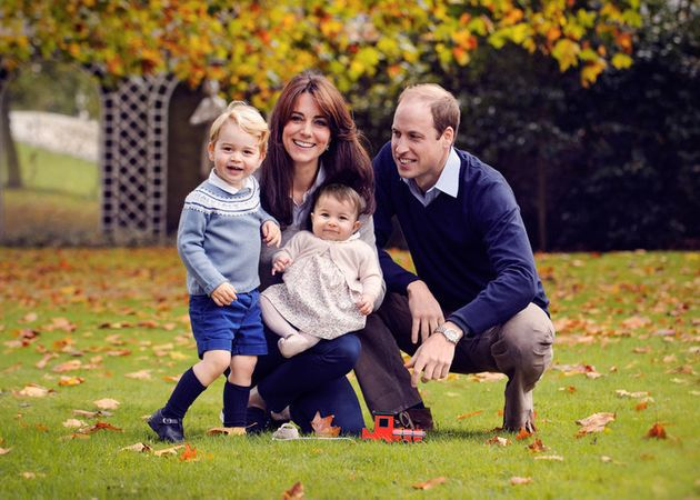 William And Kate's Christmas Card Is All About Prince George And Princess