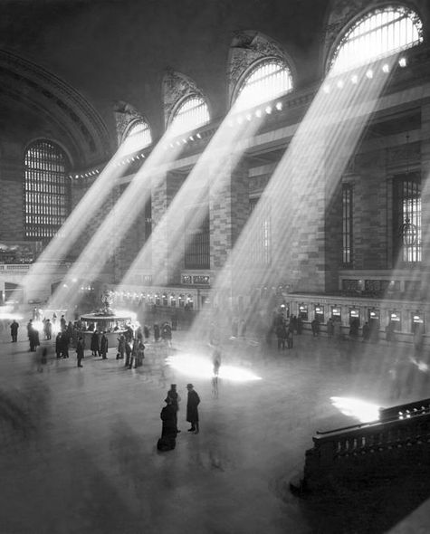 Sun hitting Grand Central Station / Fine Art America