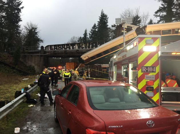 Seventy seven people have been taken to hospital after the derailment and multiple deaths have been