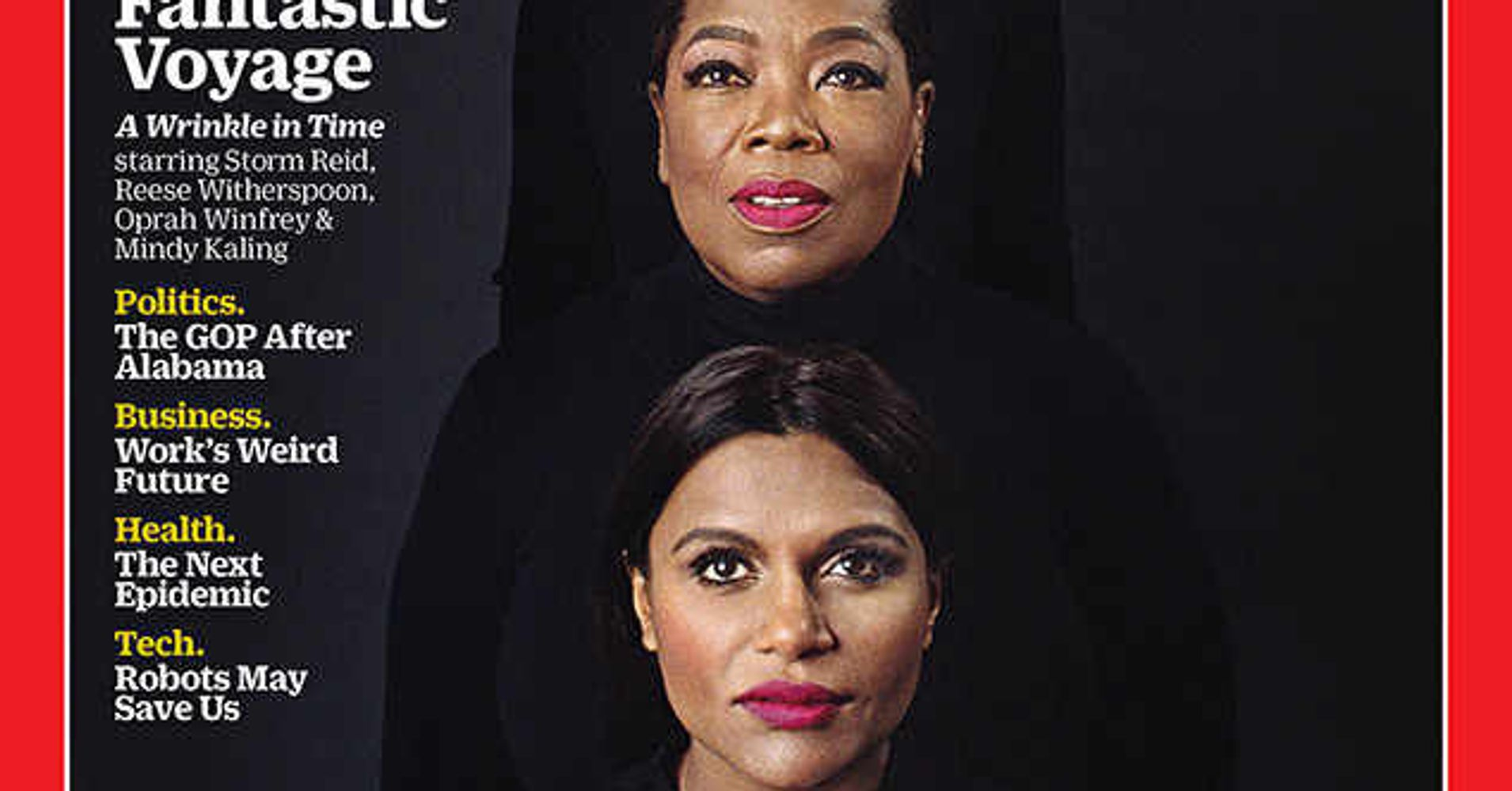 Quotes From A Wrinkle In Time: The Cast Of 'A Wrinkle In Time' Is Pure Magic On The Cover